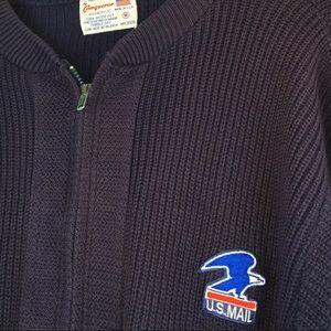 VTG Postal Service Sweater   USPS Jacket